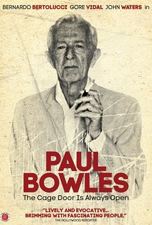 Paul Bowles. Director of The Sheltering Sky