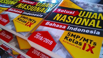 Kunci jawaban Solusi UN Bahasa Indonesia SMP/MTs edisi 2018/2018
