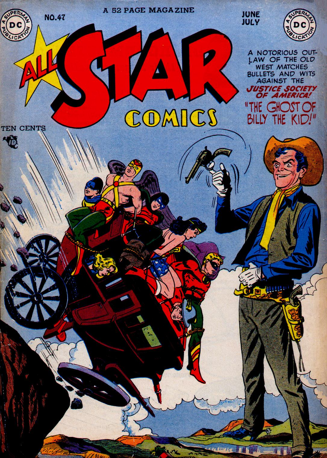 Read online All-Star Comics comic -  Issue #47 - 1