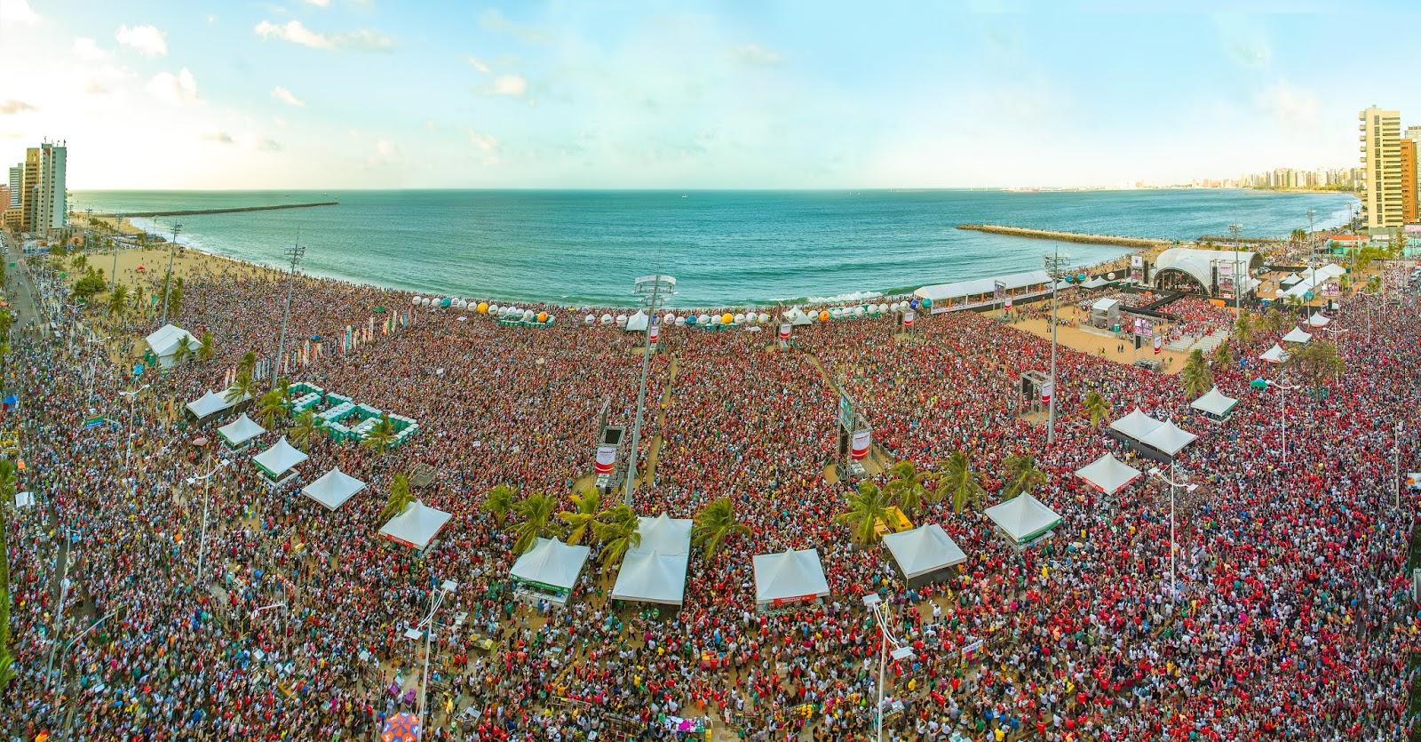 8af87c9a534 XI Evangelizar é Preciso Fortaleza neste sábado no Aterro da Praia de  Iracema