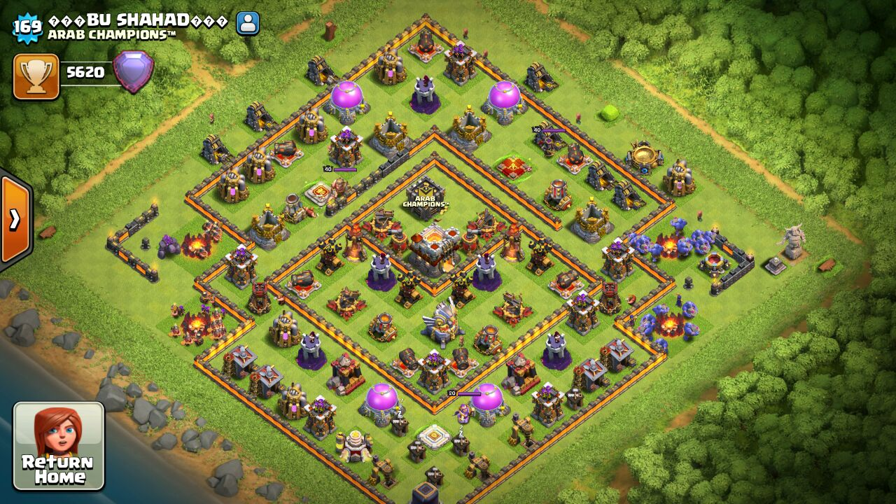 clash of clans coc town hall 11 base december top clans. Black Bedroom Furniture Sets. Home Design Ideas