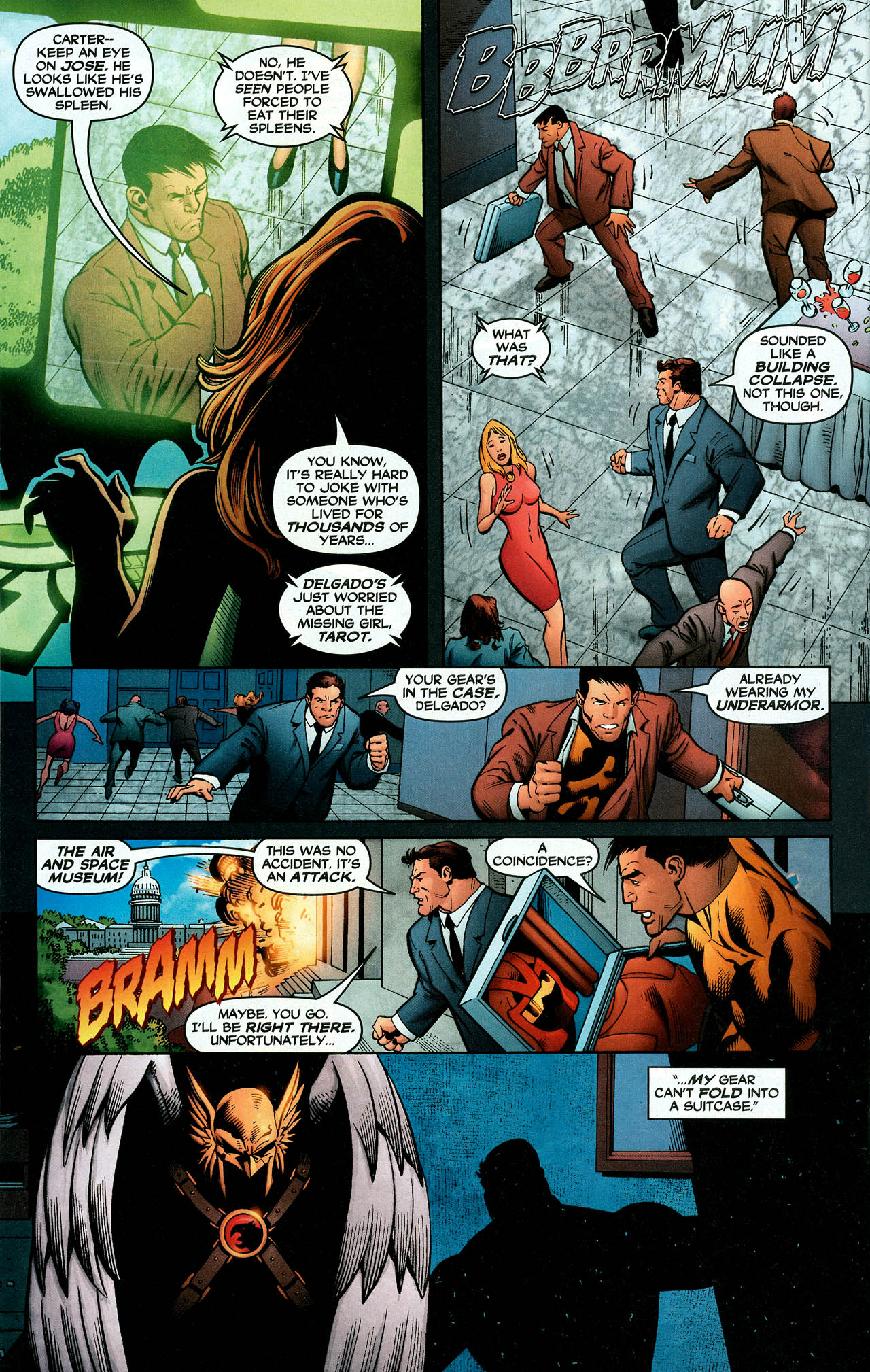 Read online Trinity (2008) comic -  Issue #11 - 23