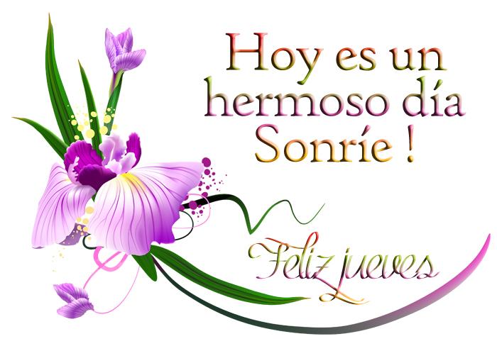 Banco De Imágenes Feliz Jueves Postales Con Flores Y Mensajes