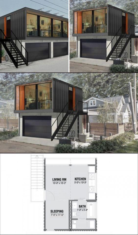 Casas contenedores algunos proyectos de casas container - Proyectos de casa ...