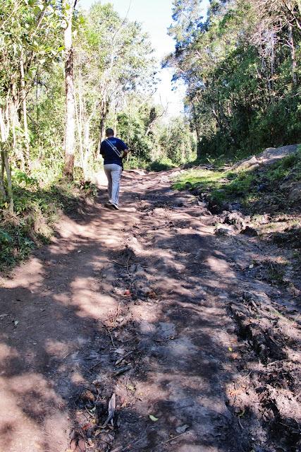 Trilha da Pedra Redonda, em Monte Verde