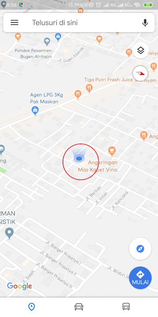 Cara Mudah Berbagi Lokasi dengan Google Maps Cara Mudah Berbagi Lokasi dengan Google Maps
