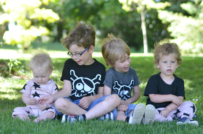 four under five, nununu, minimalist kids fashion