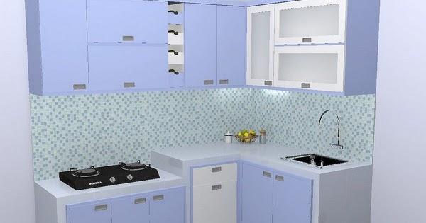 51 Ide Dapur Minimalis Nuansa Biru Dapur Minimalis