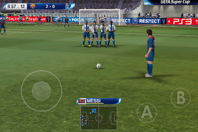 Free Download Pro Evolution Soccer (PES) 2017 Apk + Data for Android