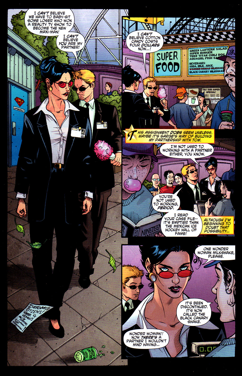 Read online Wonder Woman (2006) comic -  Issue #6 - 4