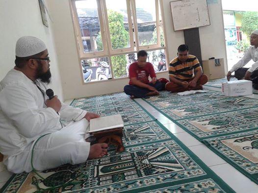 Ada PKS Kitab Riyadhus Shalihin di Masjid Muwahhidin Amplas
