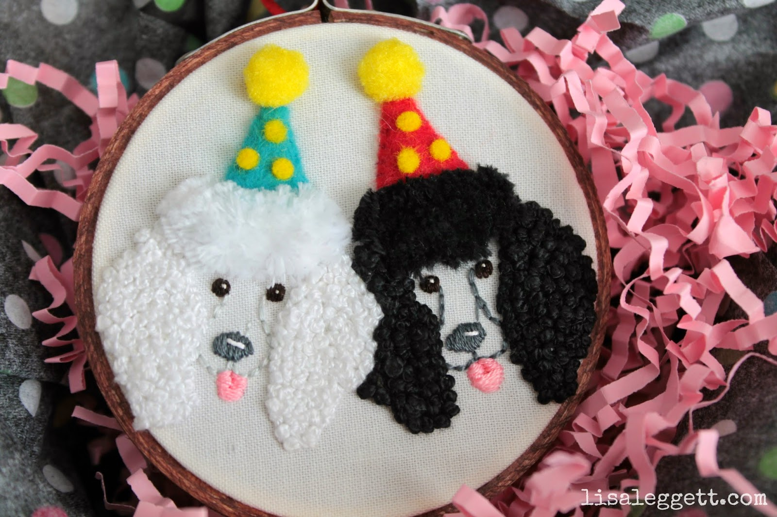 Party Poodles by Lisa Leggett