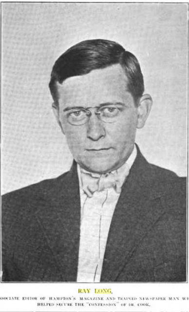 Magazine Editor Ray Long c. 1910