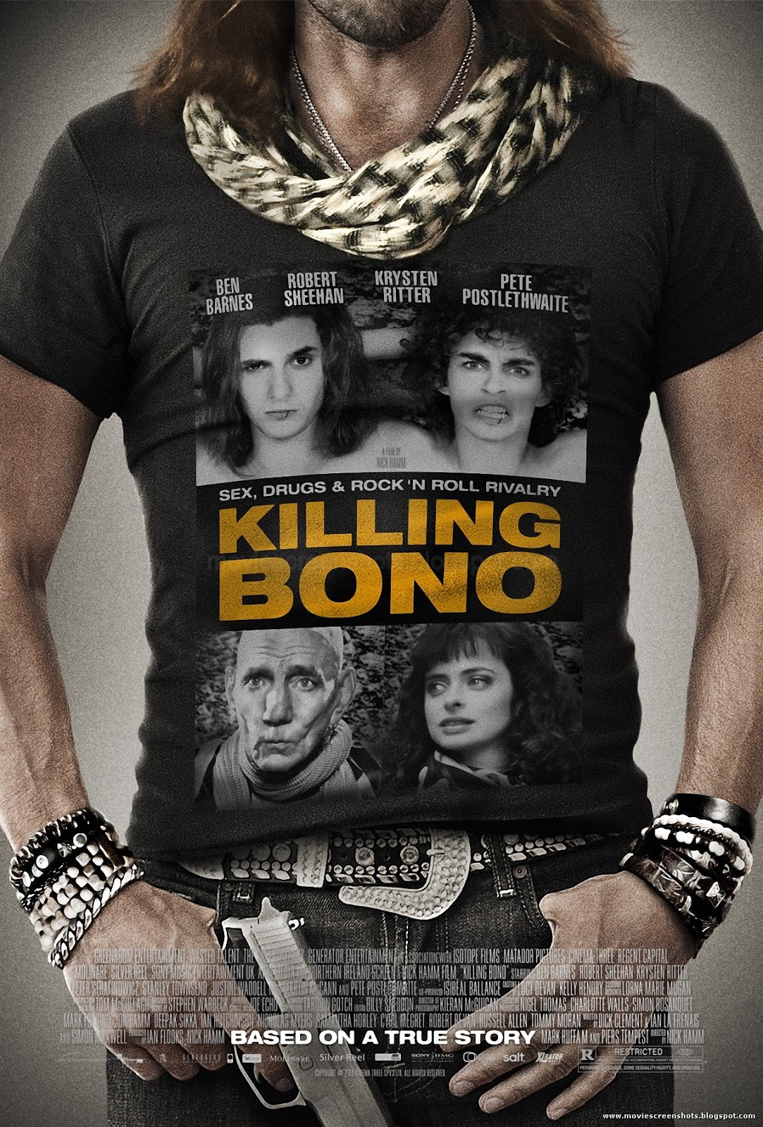 Vagebond's Movie ScreenShots: Killing Bono (2011)