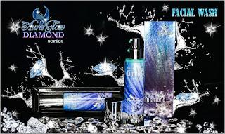 Facial Wash Aura Glow Diamond Series