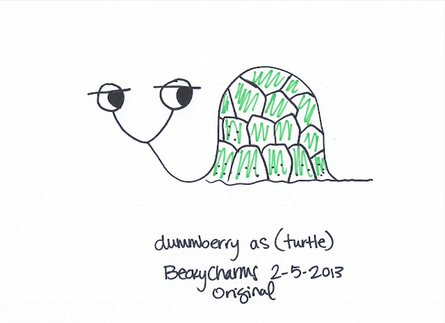 Dummberry in Disguise Don't Crack the Shell, beckycharms, dummberry, snail, cartoon, drawing, illustration, sharpie, cute, kawaii, humor, creative, 2013, san diego