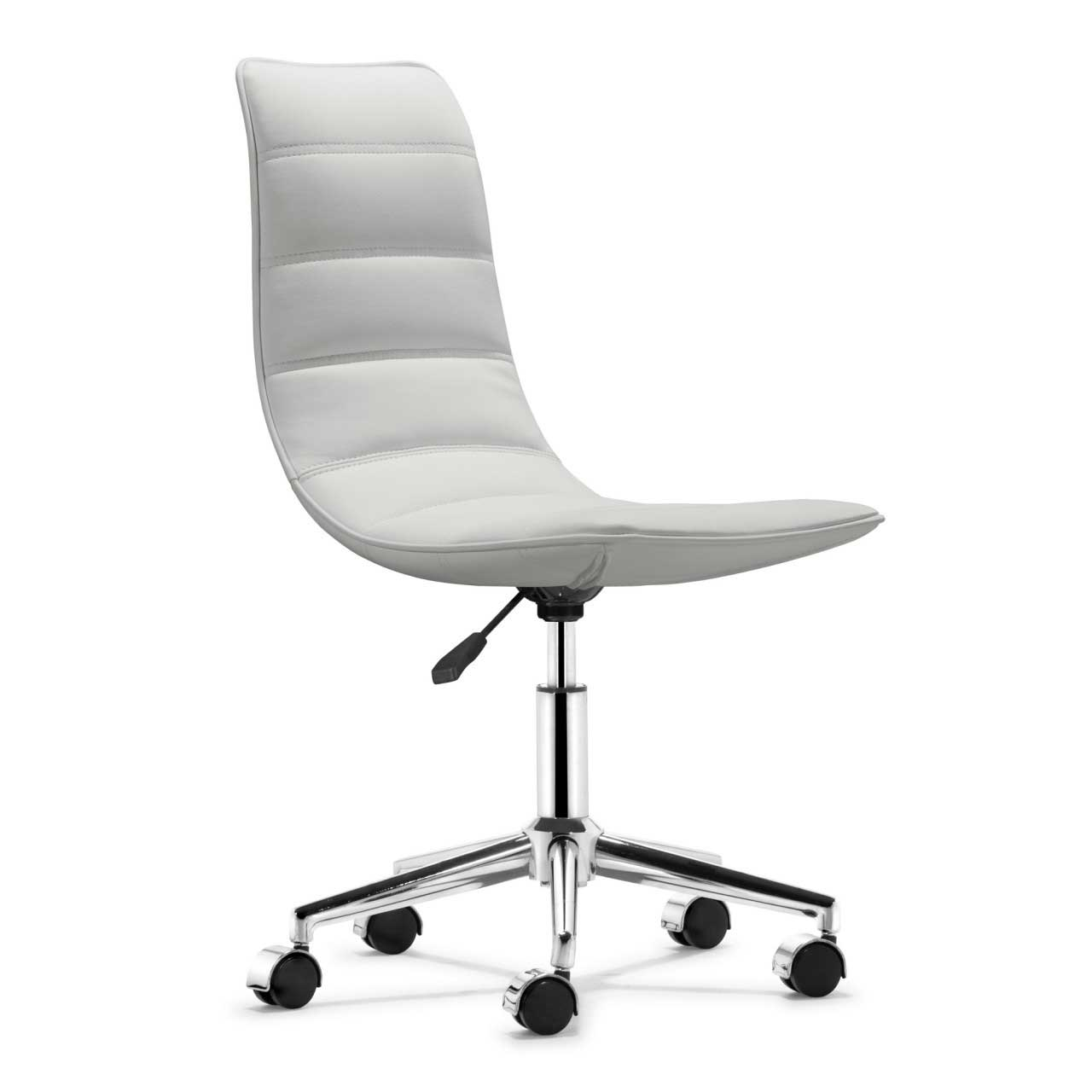 White Office Chair Design and Style--COF