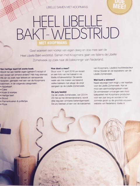 11ce1d500b4 Wedstrijd 'Heel Libelle Bakt' - Koekjes van eigen deeg - recepten en  verhalen - gratis ebook