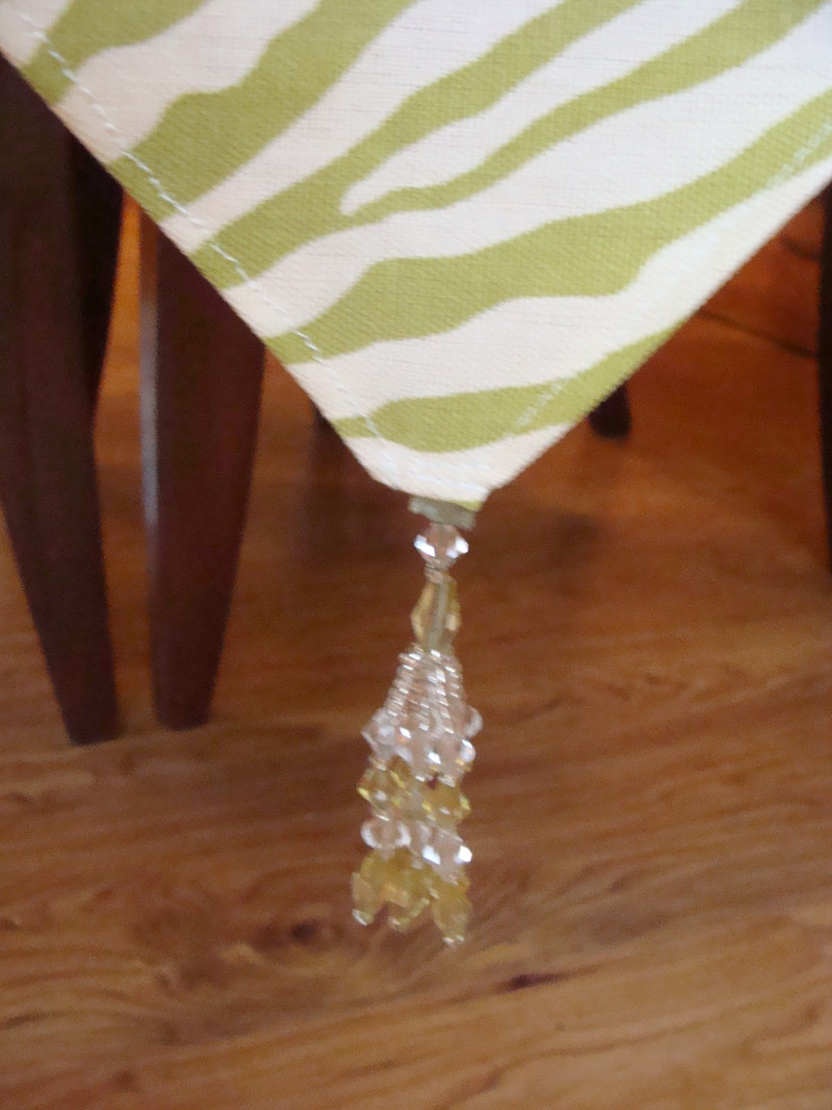 Inside Heather S Home Zebra Print Table Runner And Tray