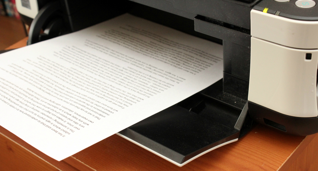 whether trial court should rely on print out of order upload