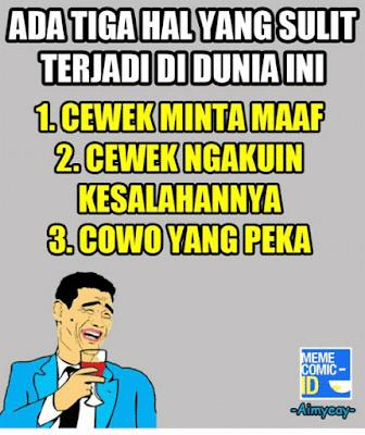 14 Meme 'Tiga Hal' Ini Kocak Banget, Bener Nggak Nih?