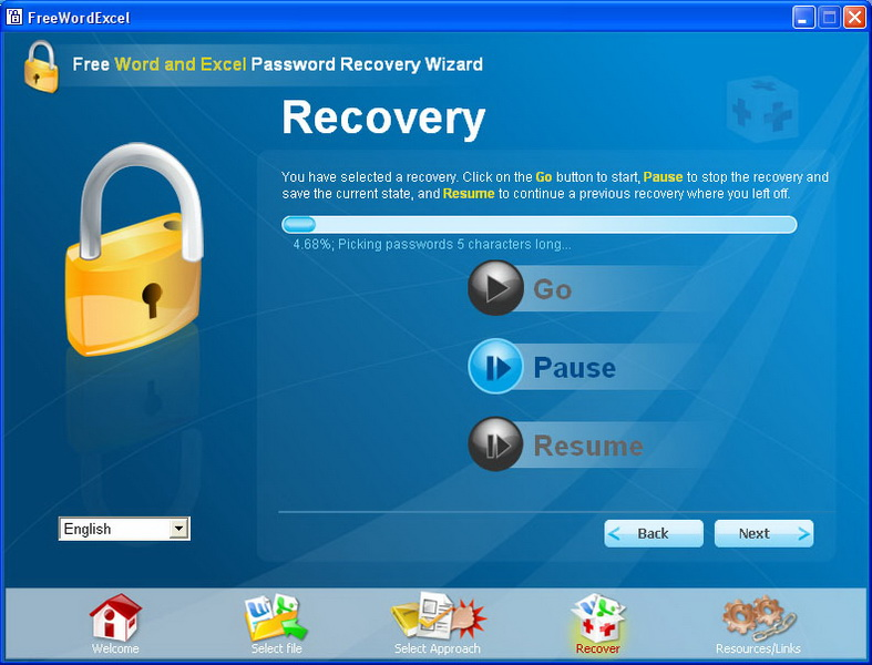 Free Recovery Password Excel Word Office