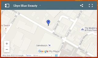 staffordshire beauty salon map