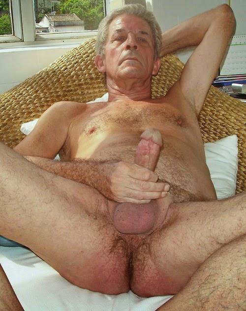 huge grandpa dick