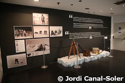 Plafones en el Museo de la Antártida de Génova