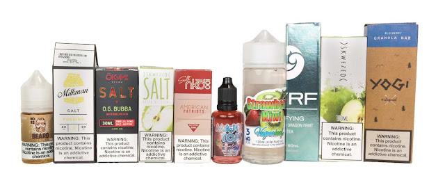 Nicotine Salt Freebase Nicotine Vape Juice