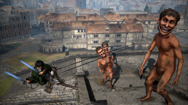 Attack on Titan Wings of Freedom PC Free Download Screenshot 3