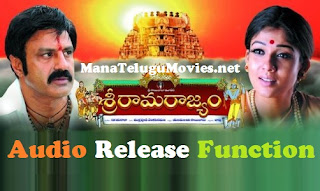 Sri Rama Rajyam Audio Release Function at Badrachalam