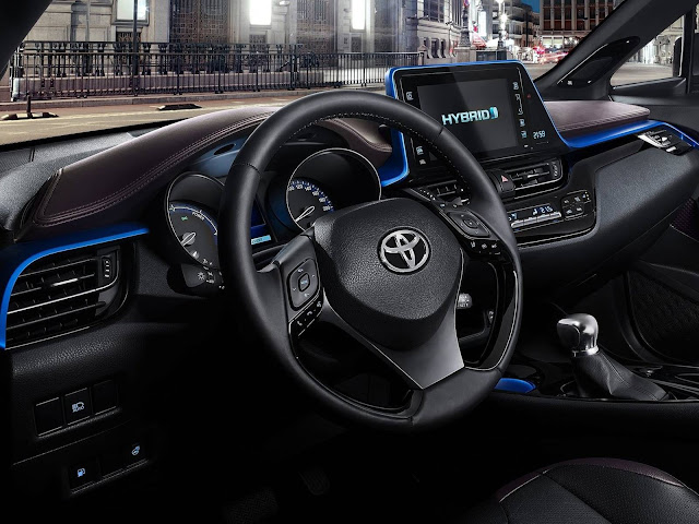 Toyota CH-R - interior - painel