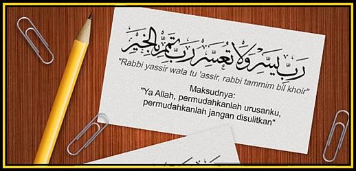 Semoga Allah Permudahkan Segala Urusan Dalam Bahasa Arab