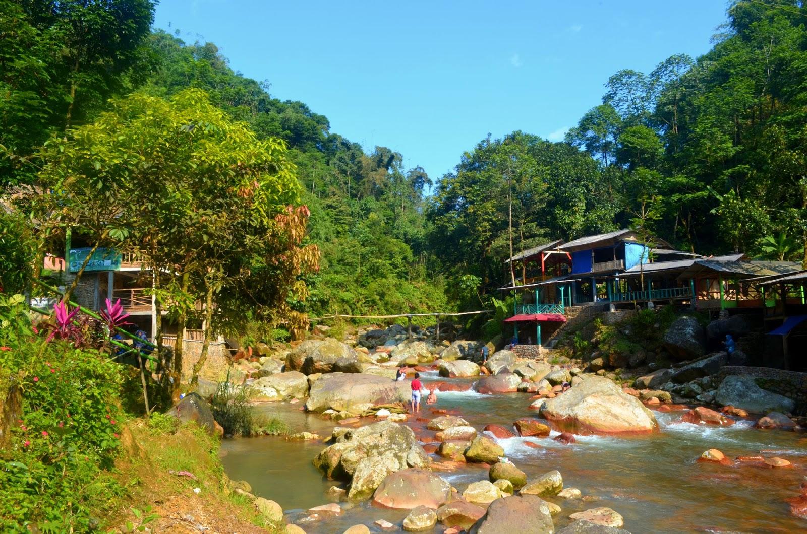Wisata Alam Bogor Barat : Air Panas Ciparay Dan Curug Cigamea