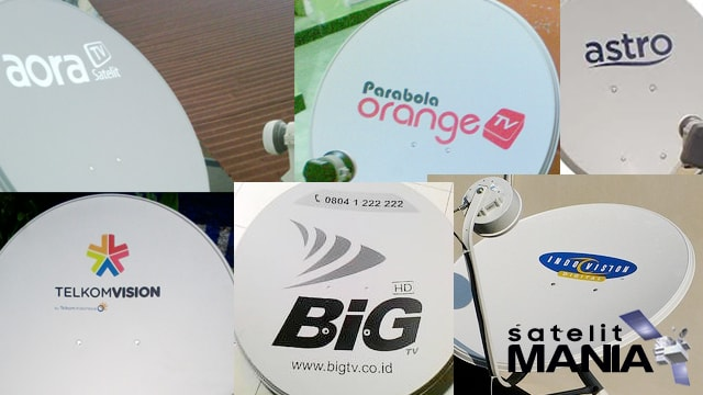 Macam-macam antena parabola/dish pay tv