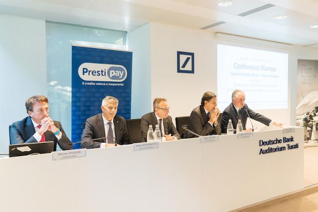 Risultati immagini per Cassa Centrale Banca e Deutsche Bank: al via la partnership nel credito al consumo
