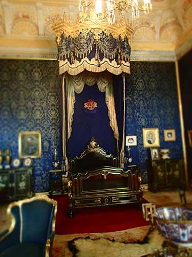 Quarto da Rainha Ajuda Palace, Lisbon.