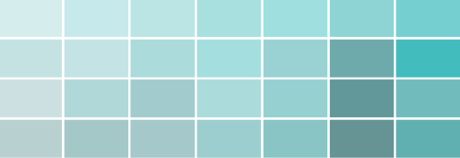 Blue Sea Green Paint Color Ideas