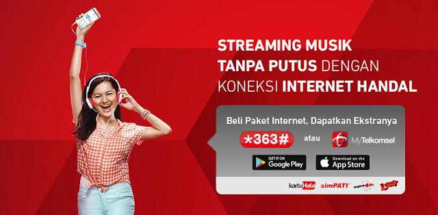 Harga Paket Internet Telkomsel simPATI: Regular Flash Surabaya