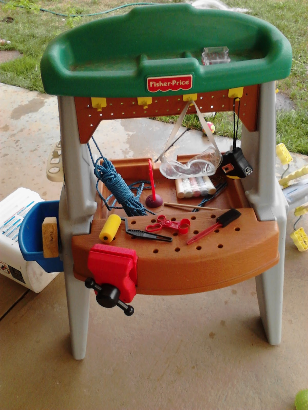 Fisher Price Tool Bench Mom S Thumb