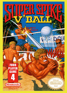 spike v ball nes