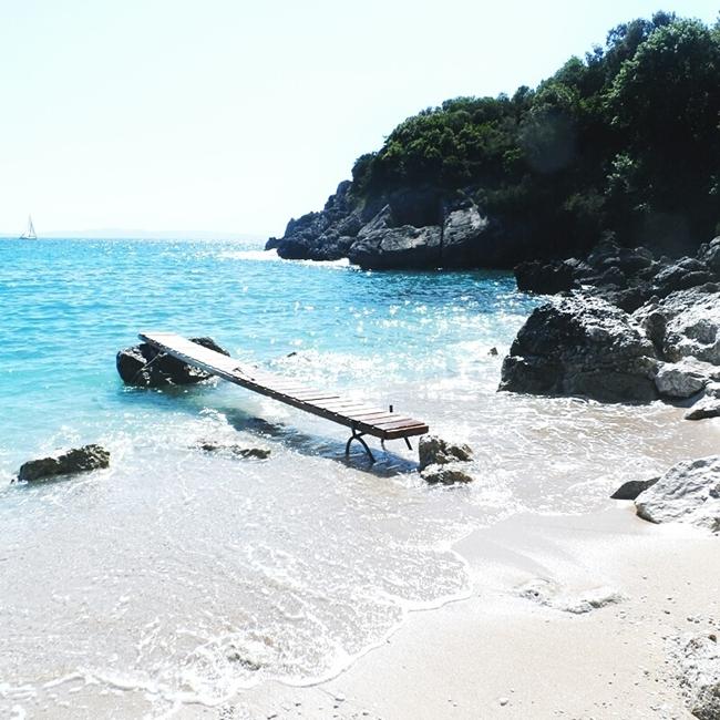 Jelena Zivanovic Instagram @lelazivanovic.Glam fab week.Sarakiniko beach Parga.Best Parga beaches.