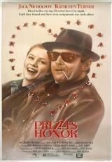 """Carátula del DVD: """"El honor de los Prizzi"""""""