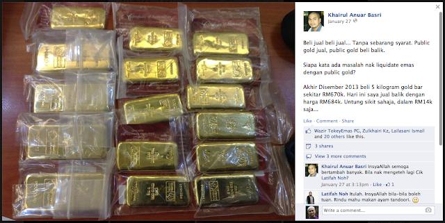 Kelebihan Utama Emas Fizikal Public Gold