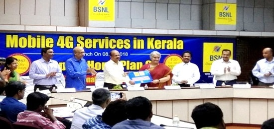 4G SERVICES IN KERALA FOR MOBILE CUSTOMERS