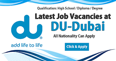 Latest DU Jobs In Dubai
