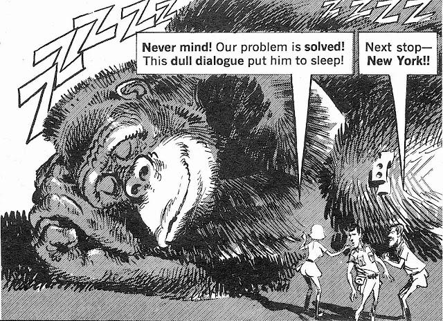 Mort Drucker's King Kong for MAD Magazine
