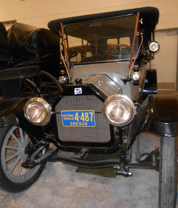 Buick Electric Car: Benton County Museum: 1914 Buick At Benton County Museum