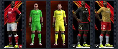 Standard Liège kits 16-17